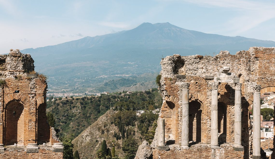Sicily from east to west